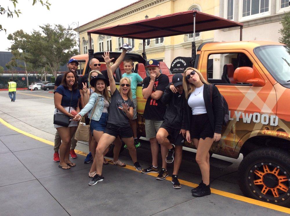 Fun on a Hollywood Tour