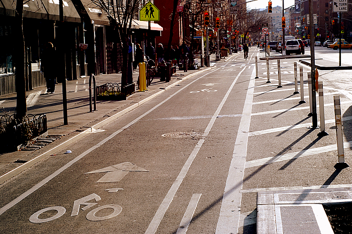 Bicycle Infrastructure   Bike lanes, parking and other amenities would improve cyclist safety and connectivity - both within the neighborhood and the city at large