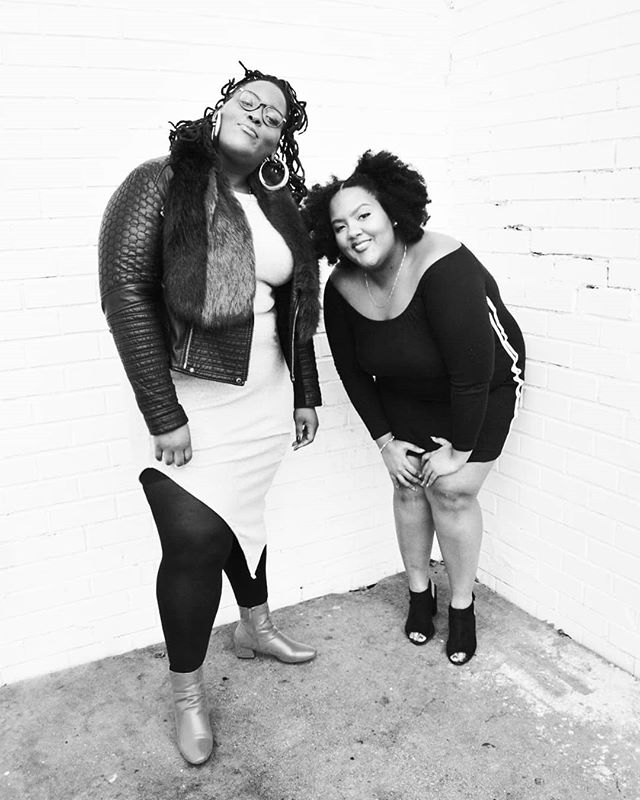 "DC hosts of @blackjoymixtape and two of our panelists for the next Nerds in NoMa panel: ""I'm SO totally starting a podcast: learning to love the mic."" Join us on TONIGHT, Tuesday, March 13th to talk about what everyone's talking about! RSVP via link in  @noma.bid bio 🎙️ 🎙️ 🎙️#Repost @noma.bid #podsincolor #BlackJoy #podcast"