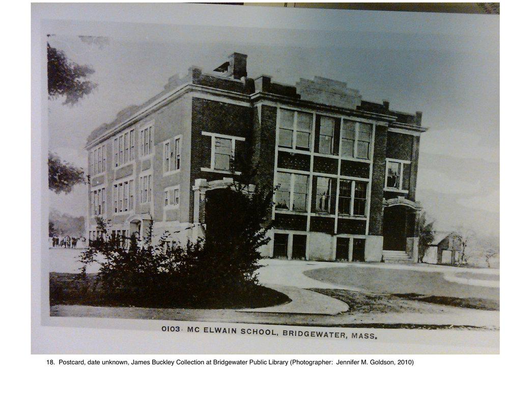 McElwain School, c. 1913