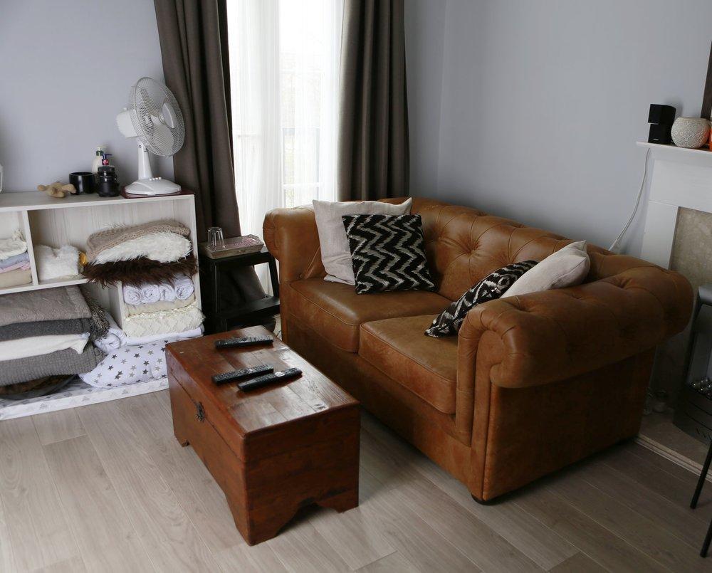 Our comfortable studio awaits you