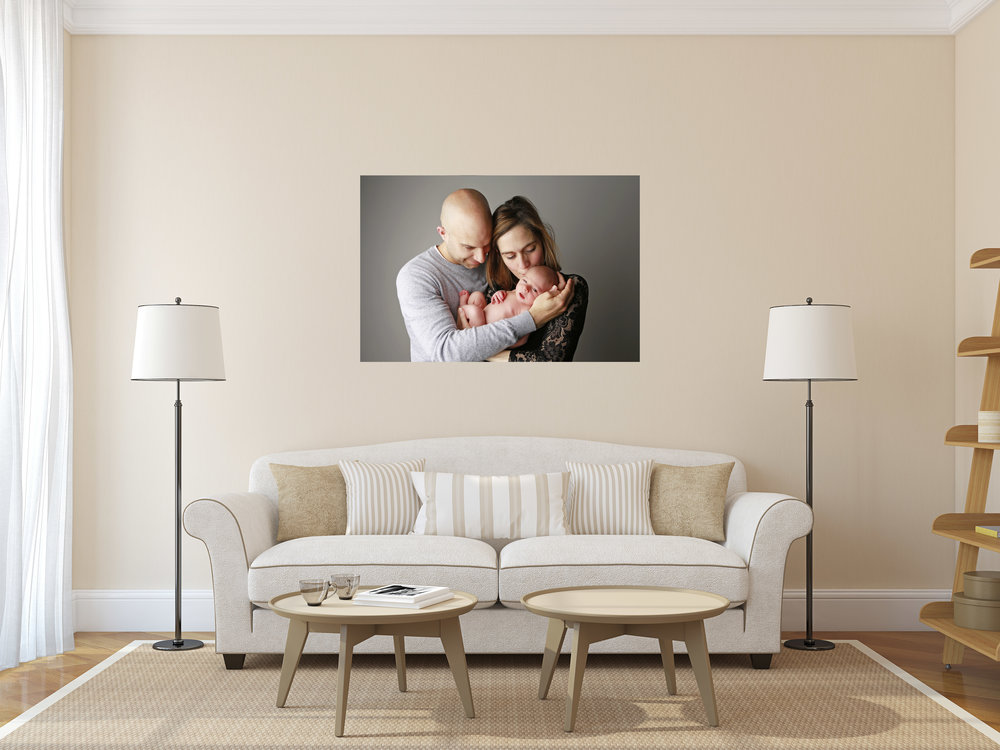 Time flies, capture your family as art