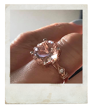 Custom Engagement Ring By: Shannon Green Long