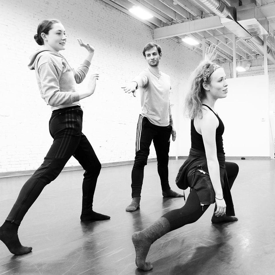 Dancers Karina Cardella and Samuel Asher-Kunzman  Carly Vanderheyden Photography 2018