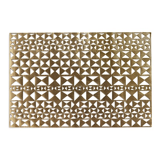 metallic placemat