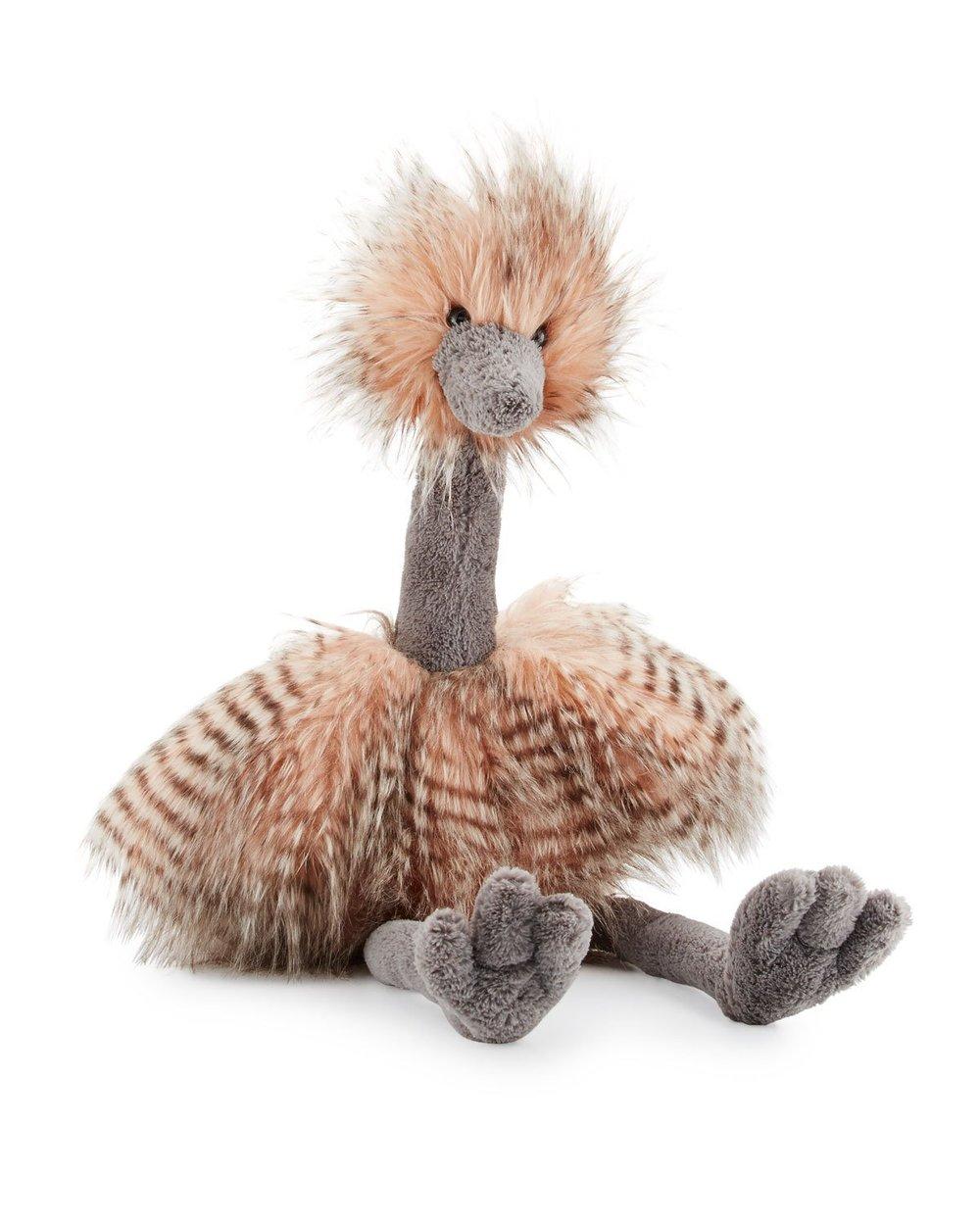 stuffed ostrich