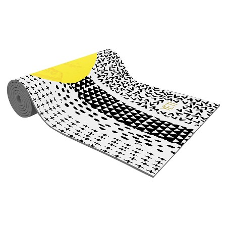 graphic yoga mat