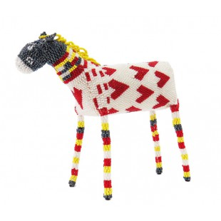 south african beaded zebra