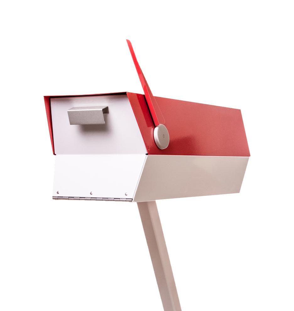 mid-century mailbox