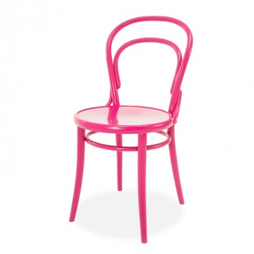 hot pink bistro chair