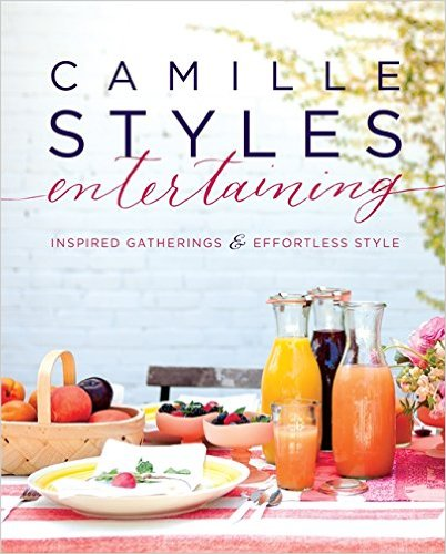 camille styles entertaining book