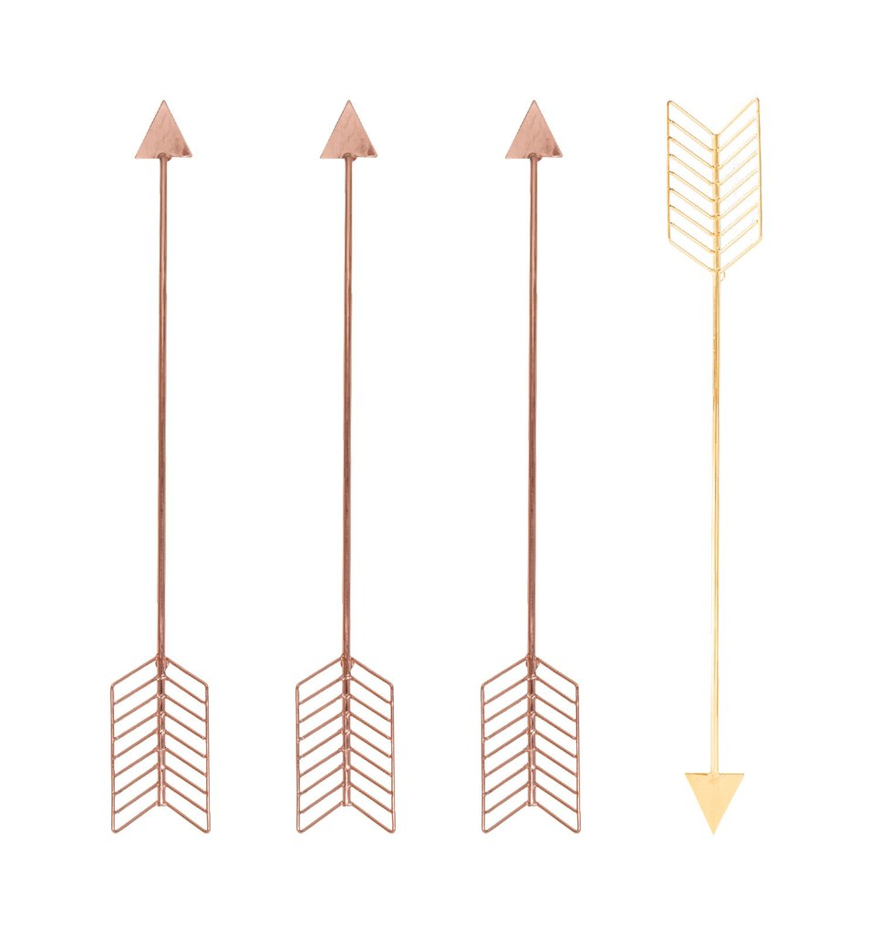 bend goods wall arrows