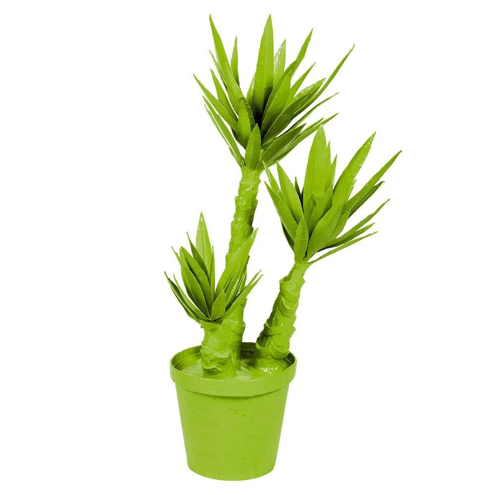 papier mache yucca