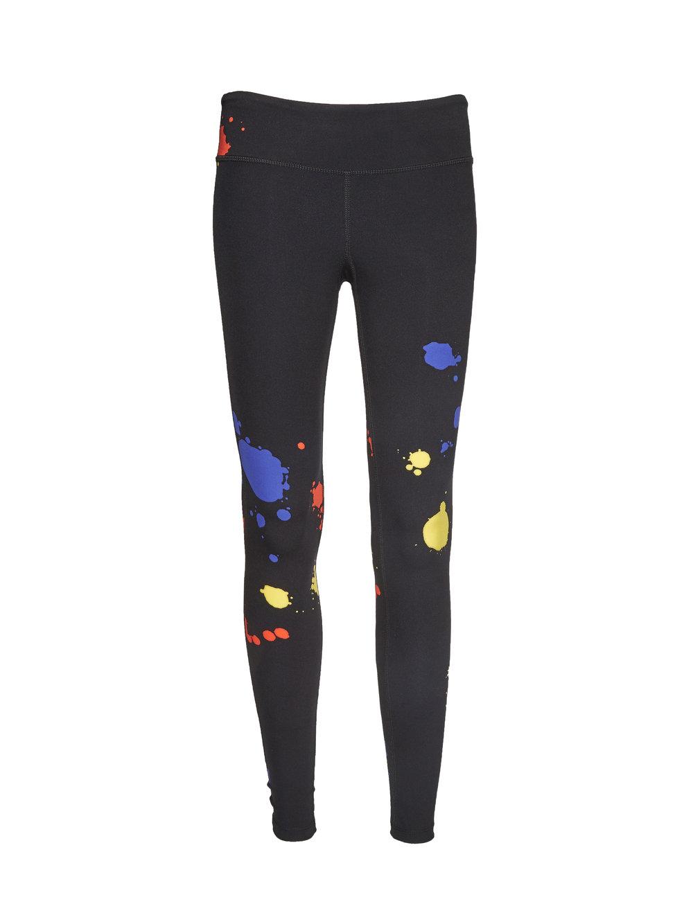 paint splatter yoga pants