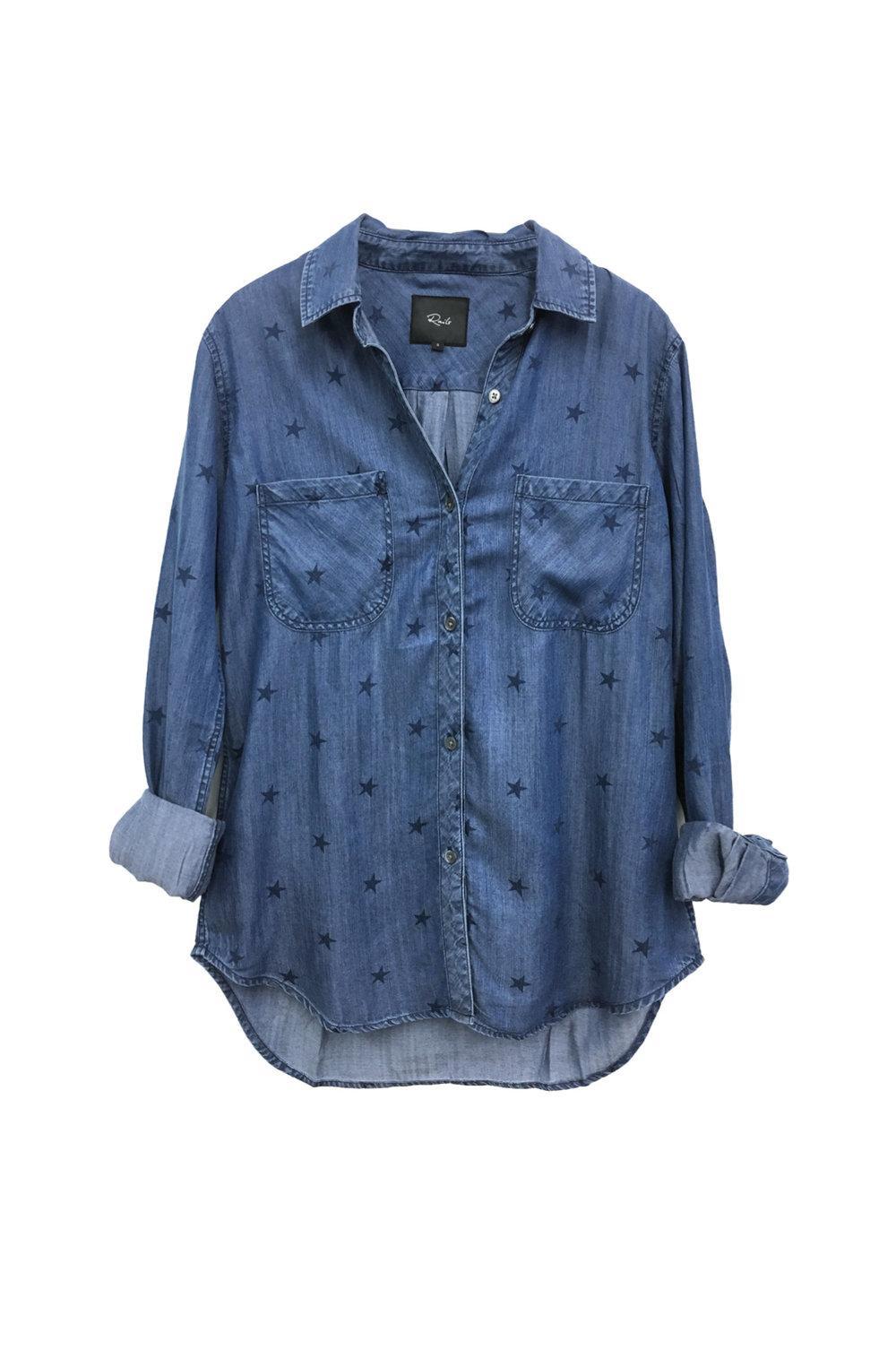 rails denim shirt