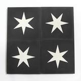 star encaustic tile