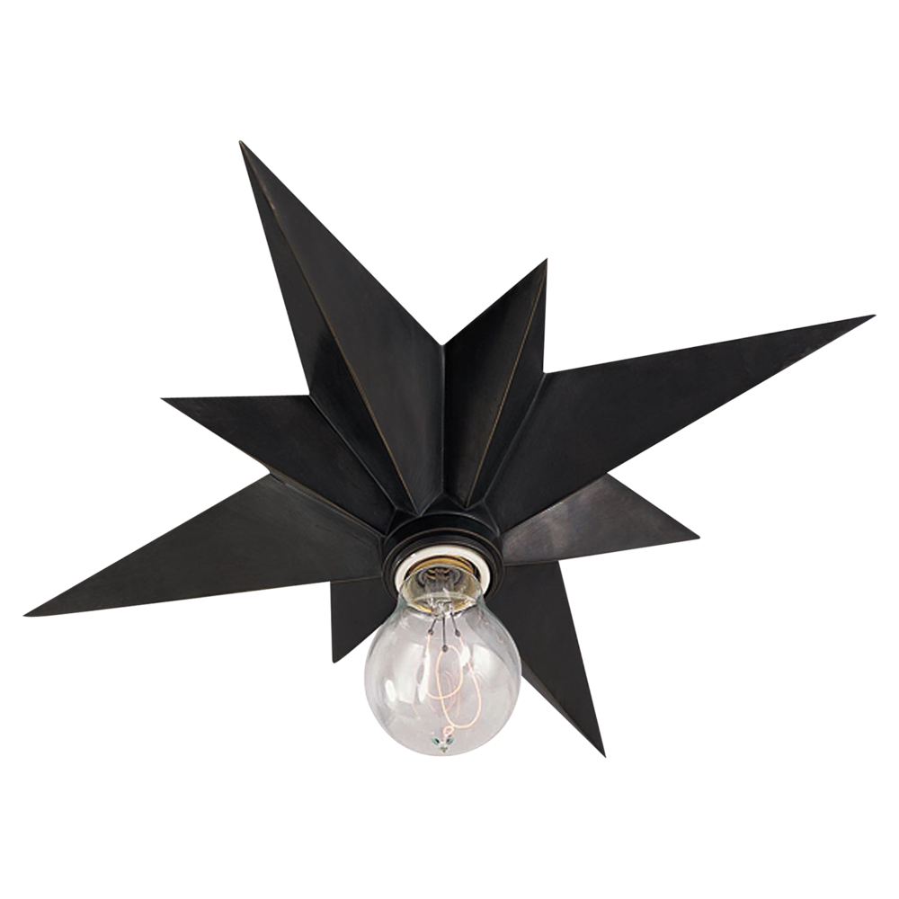 star flush mount light
