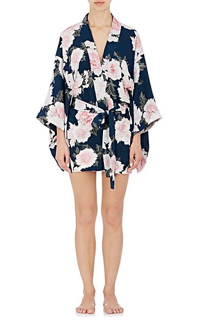 kimono-style robe
