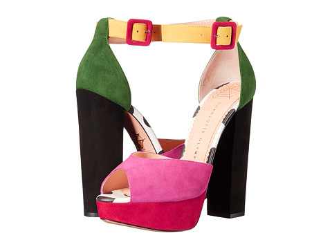 charlotte olympia colorblock platforms