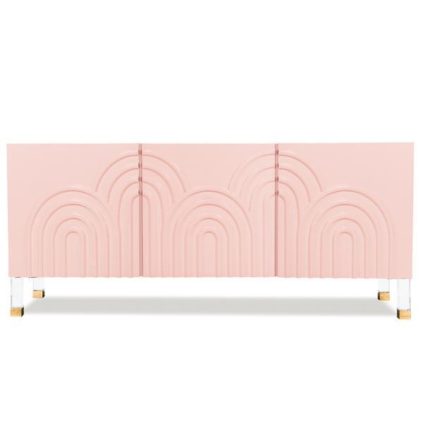 pink credenza