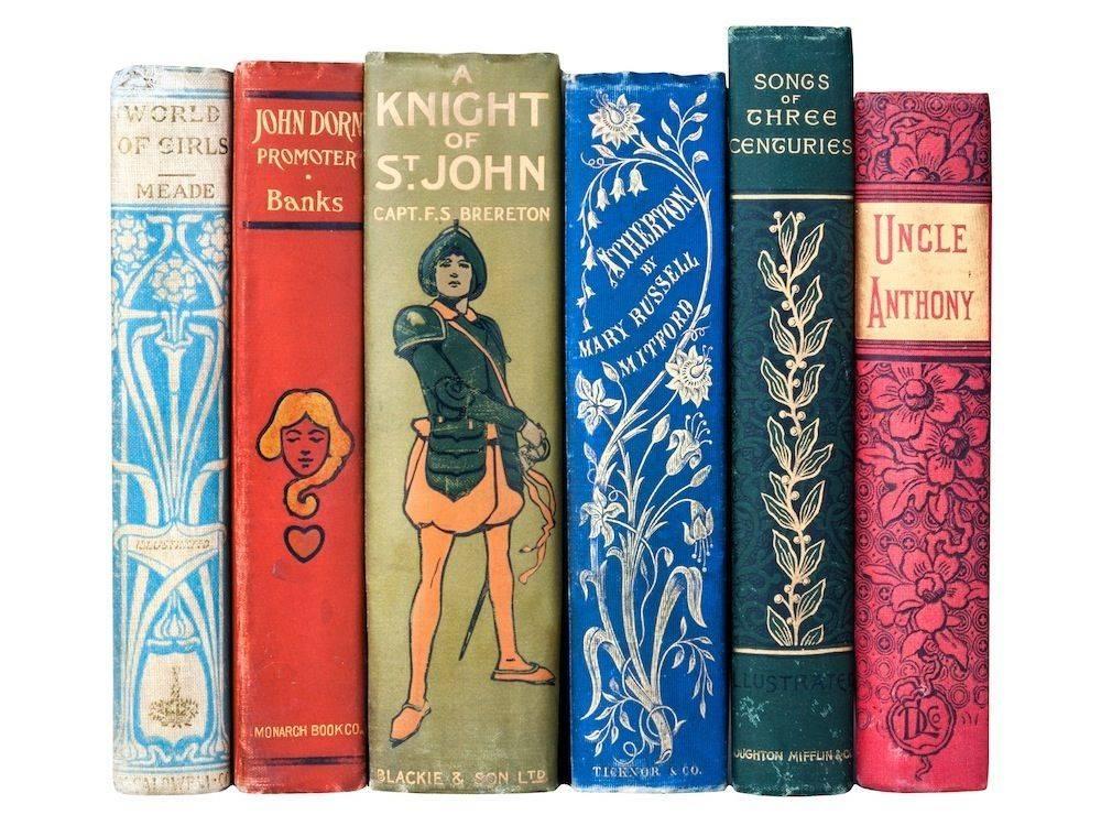 victorian book set