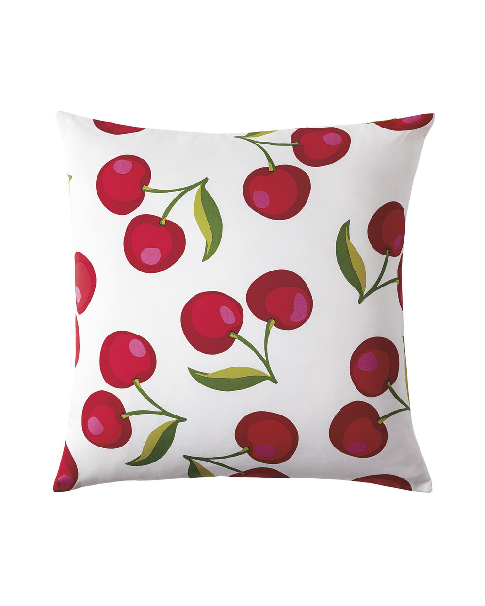 serena & lily cherry euro sham