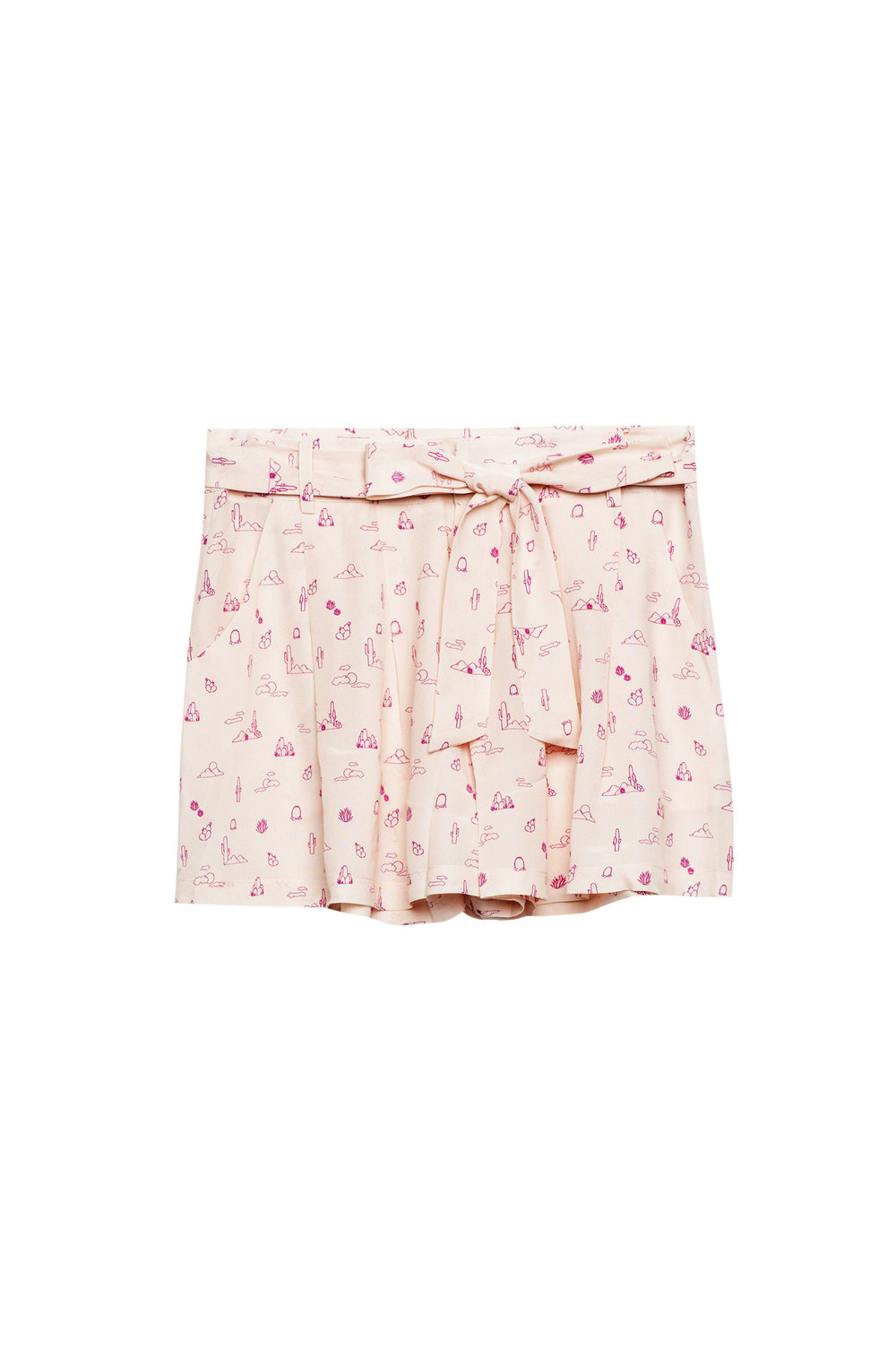 rails silk shorts