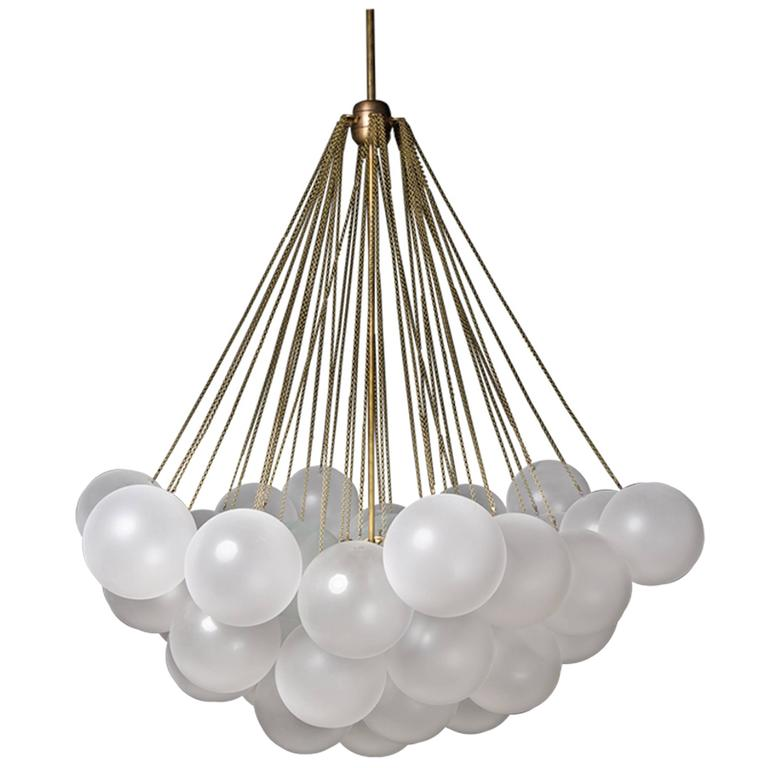 glass orb light fixture