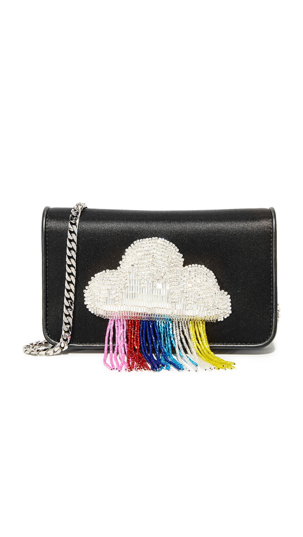 cloud fringe purse