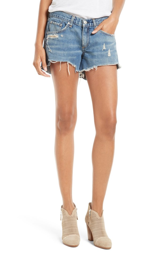 rag & bone denim cutoffs