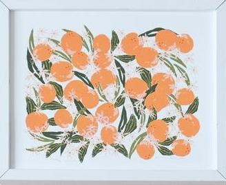 lulie wallace silkscreen print
