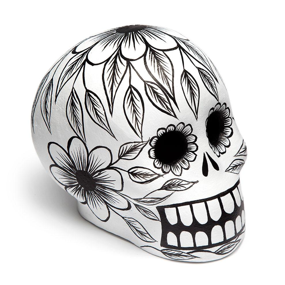 day of the dead skull from st. frank