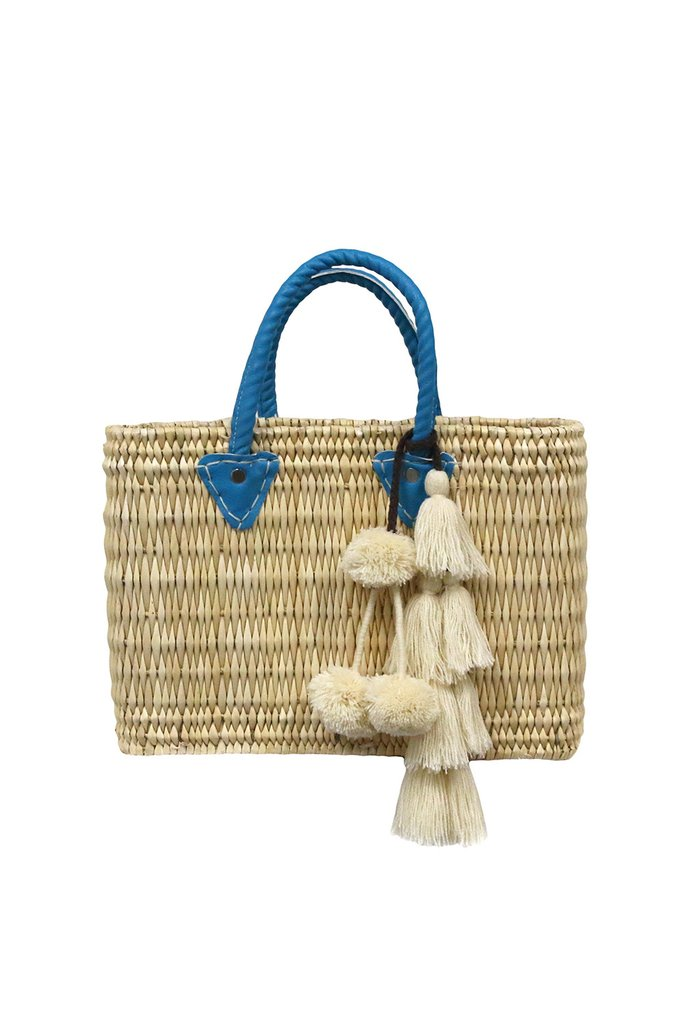 rattan wicker handbag