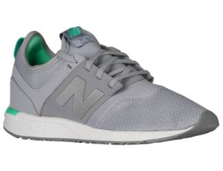 grey new balance tennies