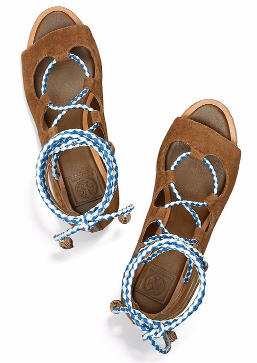 tory burch lace-up platforms