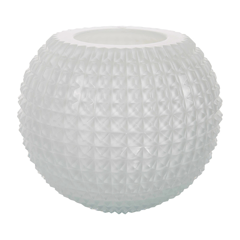 studded vase