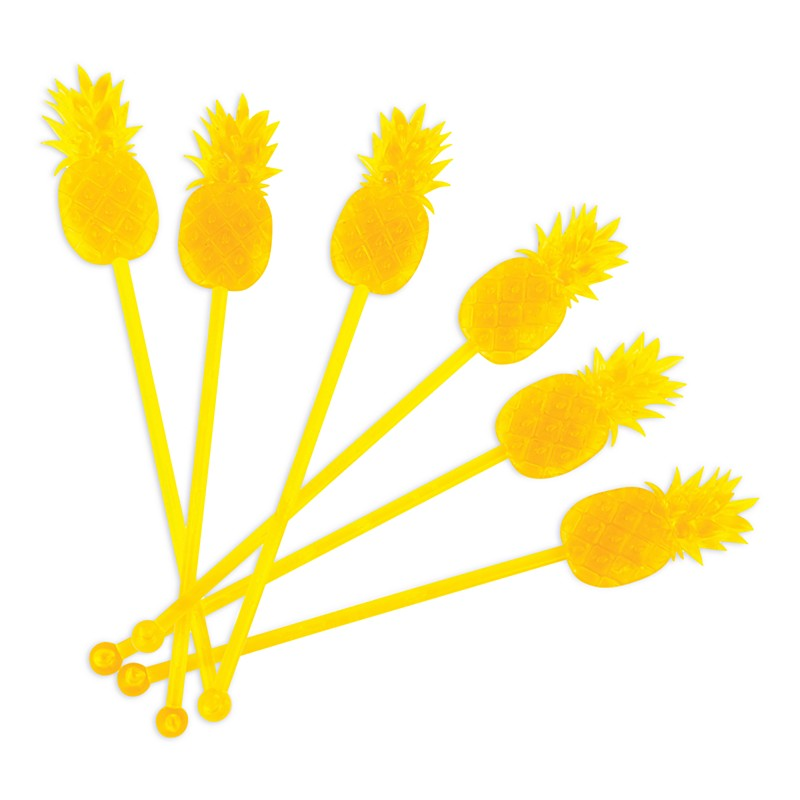 pineapple drink stirrers