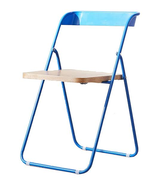 urban outfitters blue folding chair