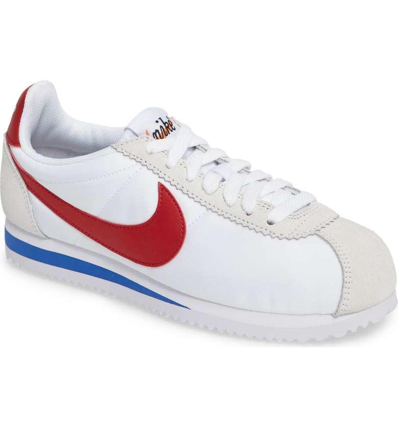 vintage style nike sneakers