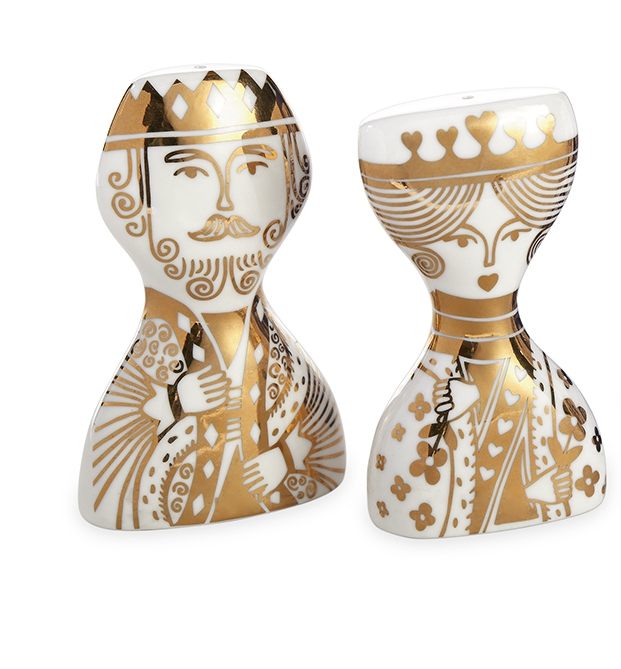 king + queen salt shakers