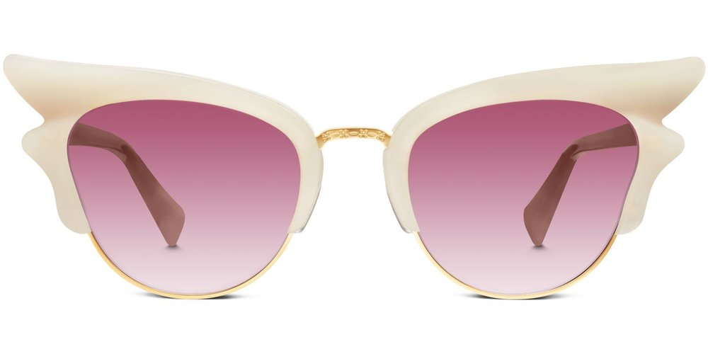 warby parker ivory sunglasses