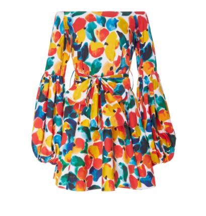 caroline constas mini dress