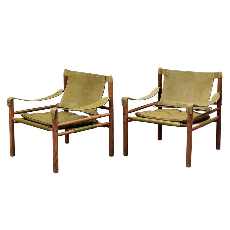 1960s safari chairs