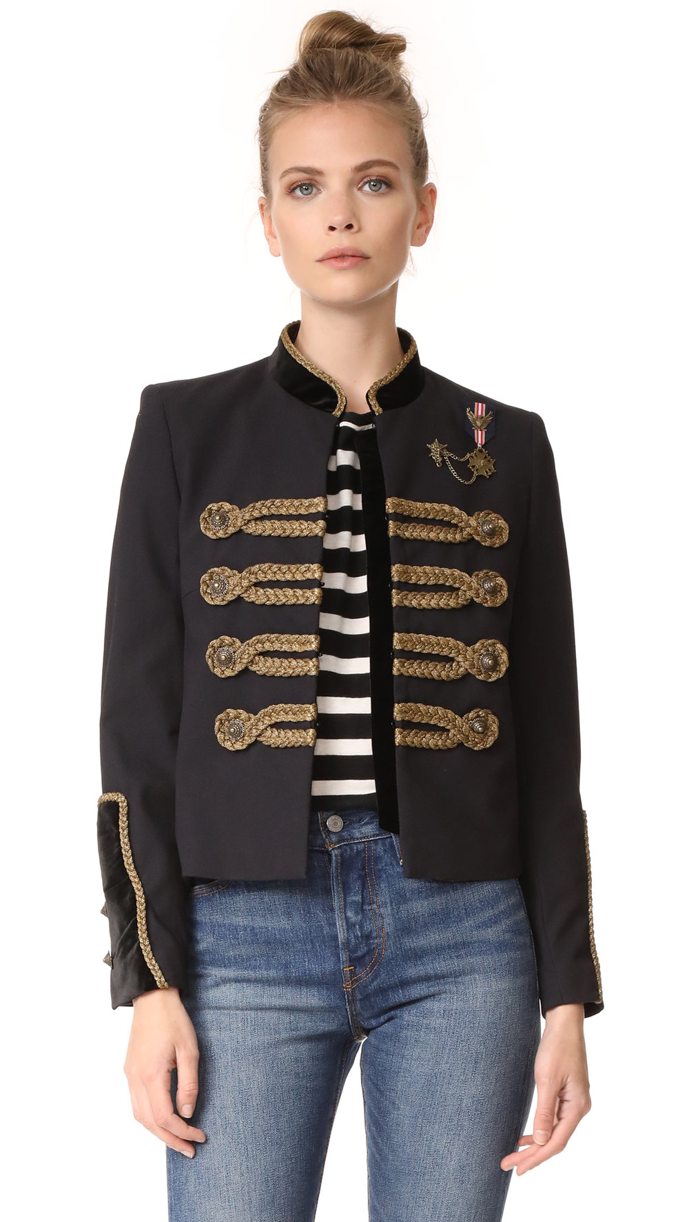 the kooples military jacket
