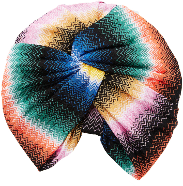 missoni multicolored turban