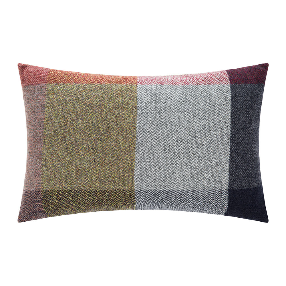 tom dixon check pillow