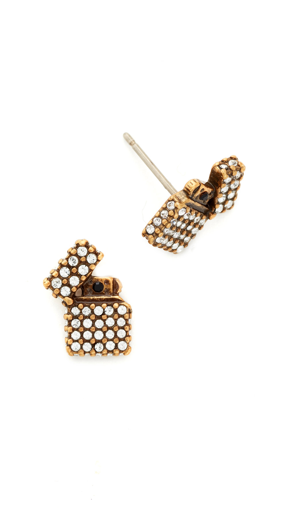 marc jacobs stud earrings