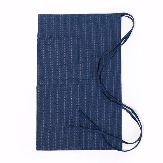 ryan smith dark denim apron