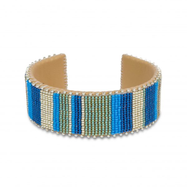 etkie hand-beaded cuff