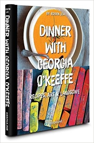 dinner with georgia o'keeffe book